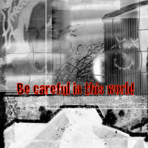 Be careful in this world 300x300